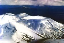 Mount Tongariro from the air